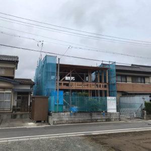 豊川の住居(建築中)